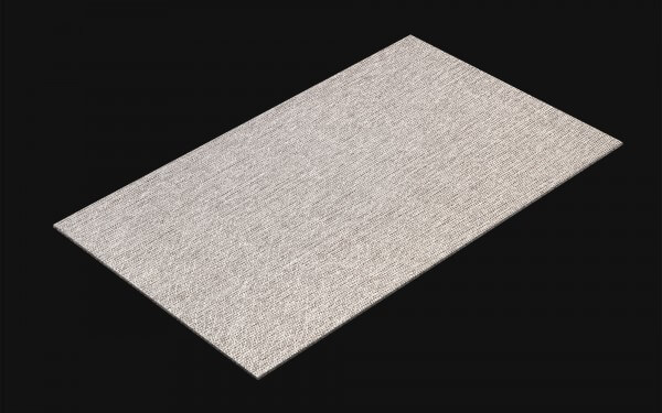 resimdo CO-AB-APZ14 Silver Metal Weave Selbstklebefolie Grau für Möbel, Wände, Küchen Kachel