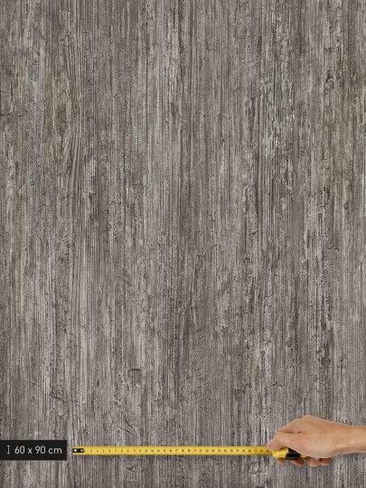 resimdo CO-WO-DW202 Grey Concrete Wood Selbstklebefolie Grau für Treppen und Stufen Platte groß