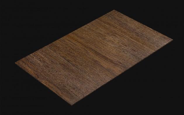 resimdo CO-WO-PZ912 Dark Touch Oak Selbstklebefolie Dunkelbraun für Treppen, Möbel, Küchen Kachel