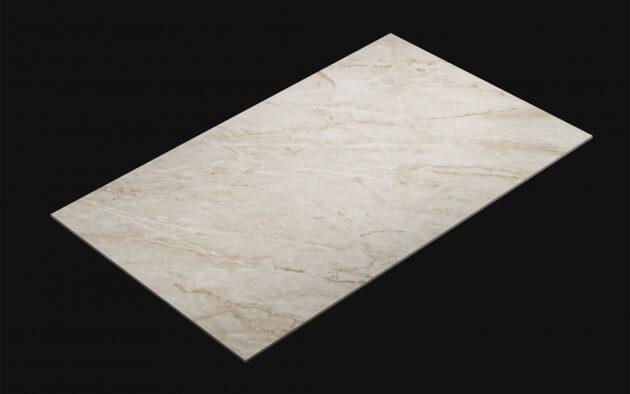 resimdo CO-AB-HD711 White Marble Gloss Klebefolie Weiss für Möbel, Küchen, Treppen, Türen Kachel