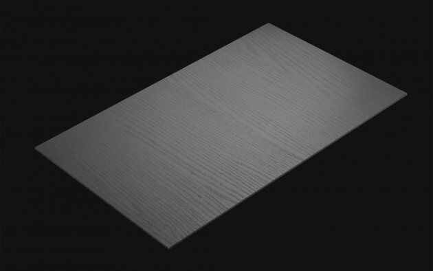 resimdo CO-WO-PTW04 Grey Painted Wood Klebefolie Dunkelgrau für Böden, Möbel, Küchen Kachel