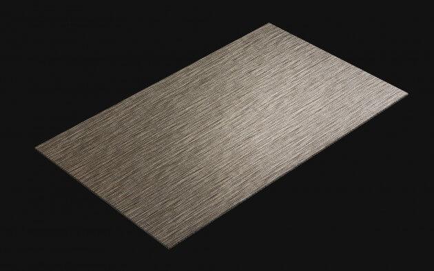 resimdo CO-AB-NSP09 Silver Textile Fabric selbstklebende Folien Hellgrau Silber für Wände, Küchen, Badezimmermöbel Kachel