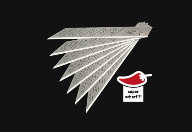 Klingen - Superscharf (9mm)
