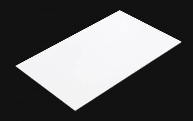 resimdo CO-BA-CP101 Sparkling Coconut Matt Selbstklebende Folie weiß für Küchen, Möbel, Türen, Wände Kachel
