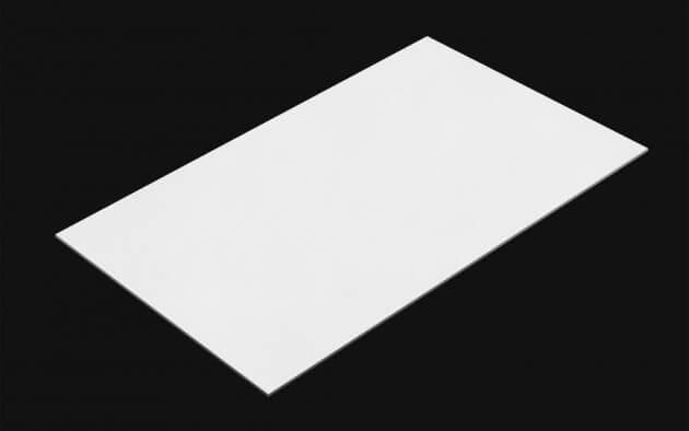 resimdo CO-BA-S115 Limewashed White Selbstklebefolie weiß matt für Küchenschränke Kachel