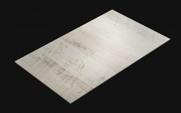 resimdo CO-WO-DW801 White Vintage Wood Klebefolie für Vintage Look auf Möbel, Fliesen, Treppen und Wände Kachel